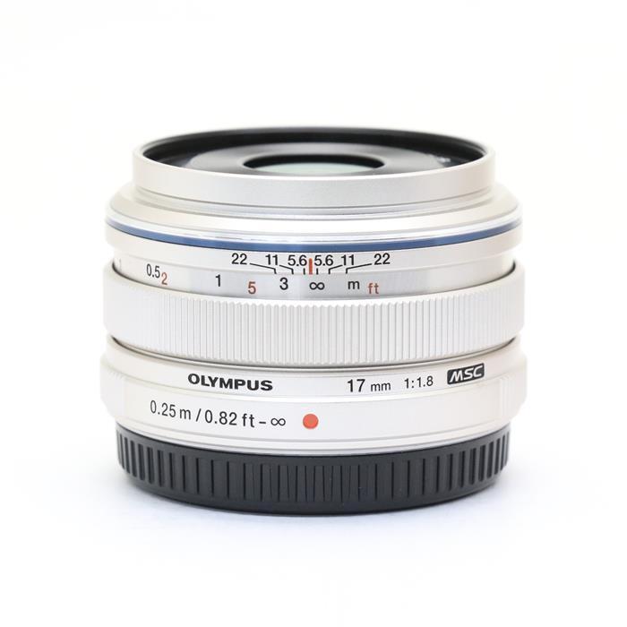 【あす楽】 【中古】 《美品》 OLYMPUS M.ZUIKO DIGITAL 17mm F1.8 シルバー (マイクロフォーサーズ) [ Lens | 交換レンズ ]