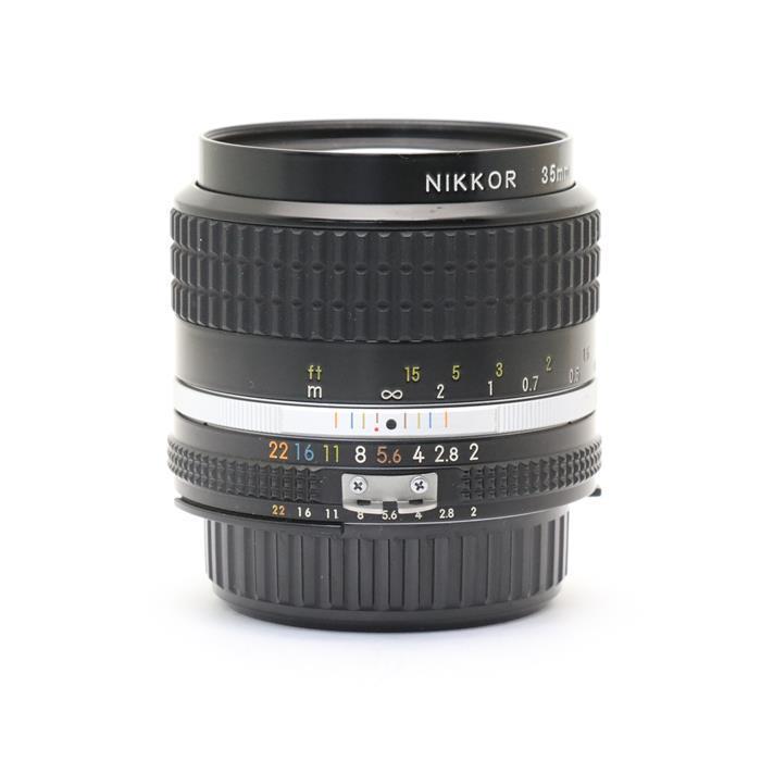【あす楽】 【中古】 《良品》 Nikon Ai 35mm F2S [ Lens | 交換レンズ ]