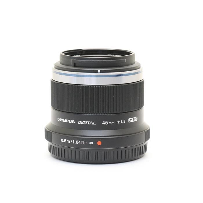 【あす楽】 【中古】 《美品》 OLYMPUS M.ZUIKO DIGITAL 45mm F1.8 ブラック (マイクロフォーサーズ) [ Lens | 交換レンズ ]