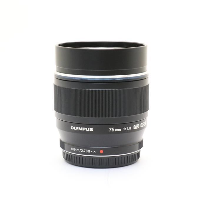 【あす楽】 【中古】 《美品》 OLYMPUS M.ZUIKO DIGITAL ED 75mm F1.8 ブラック (マイクロフォーサーズ) [ Lens | 交換レンズ ]