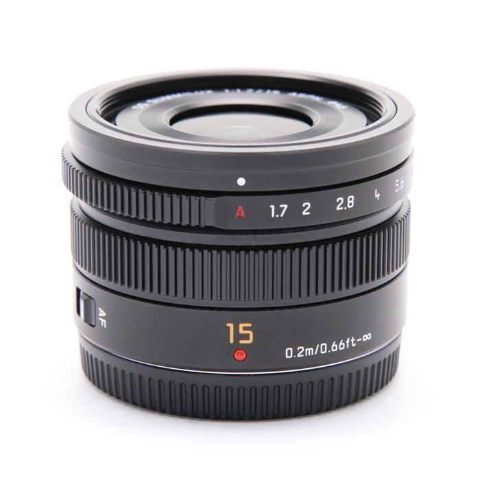 【あす楽】 【中古】 《美品》 Panasonic LEICA DG SUMMILUX 15mm F1.7 ASPH. ブラック (マイクロフォーサーズ) [ Lens | 交換レンズ ]