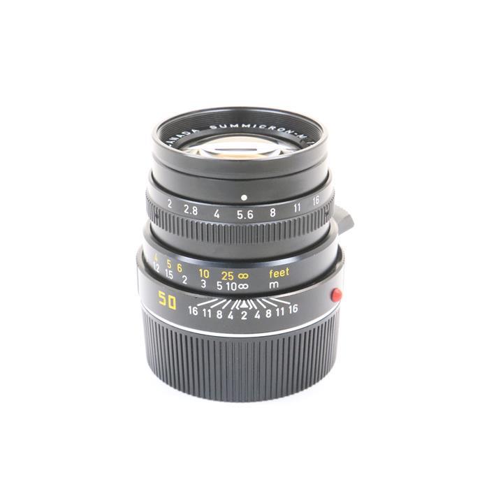 【あす楽】 【中古】 《並品》 Leica ズミクロン M50mm F2 3rd ブラック [ Lens | 交換レンズ ]