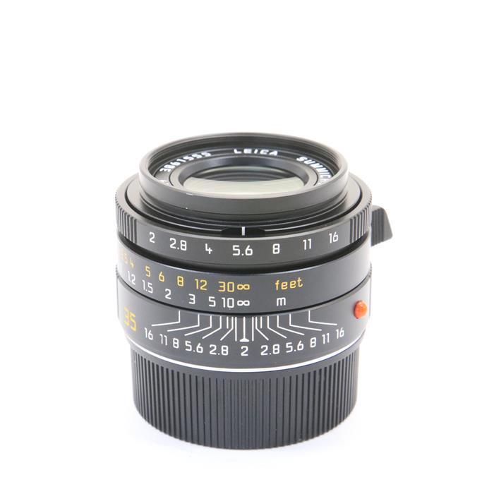 【あす楽】 【中古】 《良品》 Leica ズミクロン M35mm F2 ASPH (6bit) (フードはめ込み式) ブラック [ Lens | 交換レンズ ]
