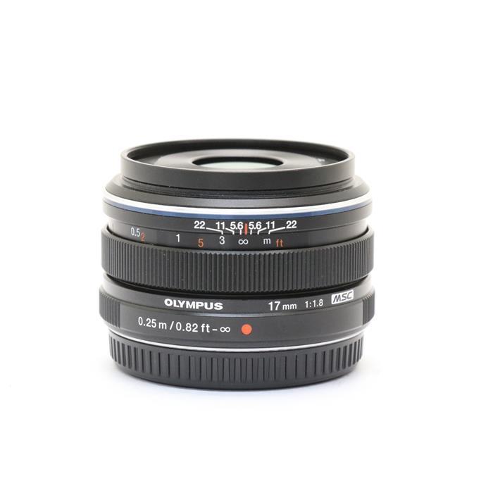 【あす楽】 【中古】 《美品》 OLYMPUS M.ZUIKO DIGITAL 17mm F1.8 ブラック (マイクロフォーサーズ) [ Lens   交換レンズ ]