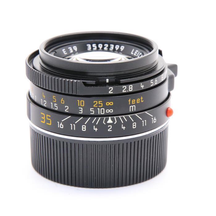 【あす楽】 【中古】 《良品》 Leica ズミクロン M35mm F2 7枚玉 ブラッククローム [ Lens   交換レンズ ]