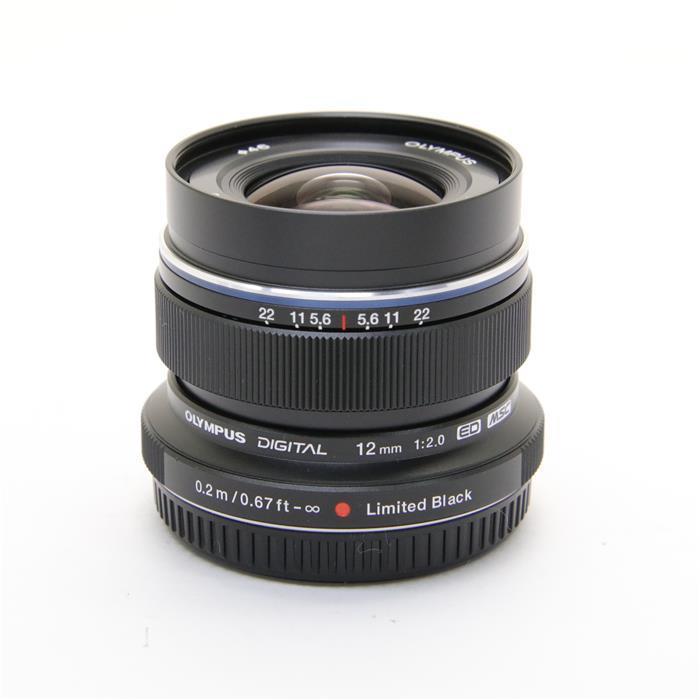 【あす楽】 【中古】 《美品》 OLYMPUS M.ZUIKO DIGITAL ED12mm F2.0 リミテッドブラックキット【世界限定3000セ (マイクロフォーサーズ) [ Lens | 交換レンズ ]