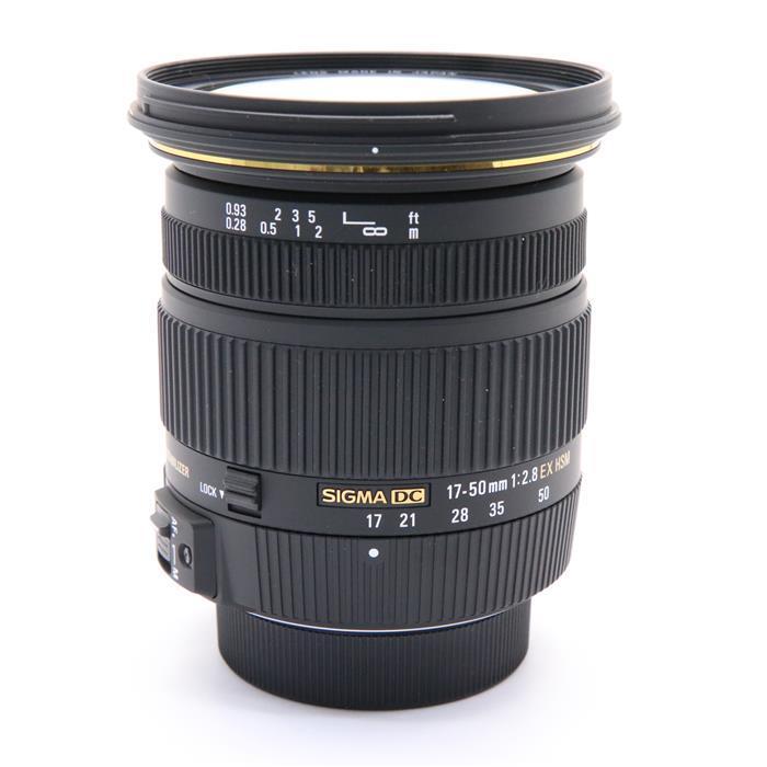【あす楽】 【中古】 《美品》 SIGMA 17-50mm F2.8 EX DC OS HSM (ニコン用) [ Lens | 交換レンズ ]