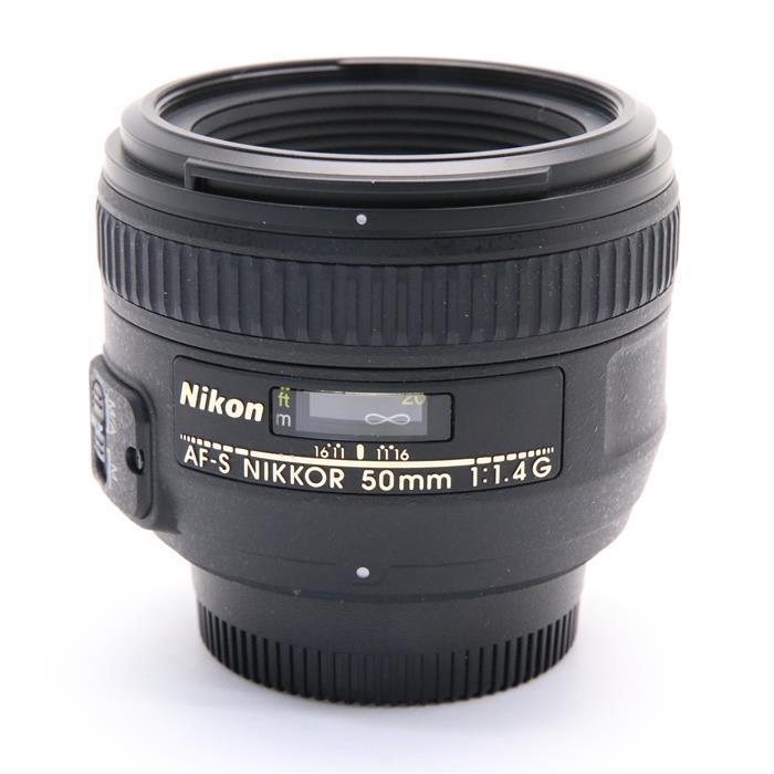 【あす楽】 【中古】 《美品》 Nikon AF-S NIKKOR 50mm F1.4 G [ Lens | 交換レンズ ]