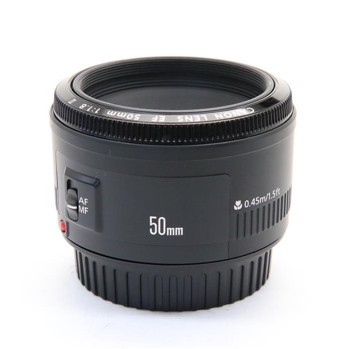 【あす楽】 【中古】 《良品》 Canon EF50mm F1.8 II [ Lens   交換レンズ ]