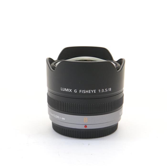 【あす楽】 【中古】 《良品》 Panasonic LUMIX G FISHEYE 8mm F3.5 (マイクロフォーサーズ) [ Lens   交換レンズ ]