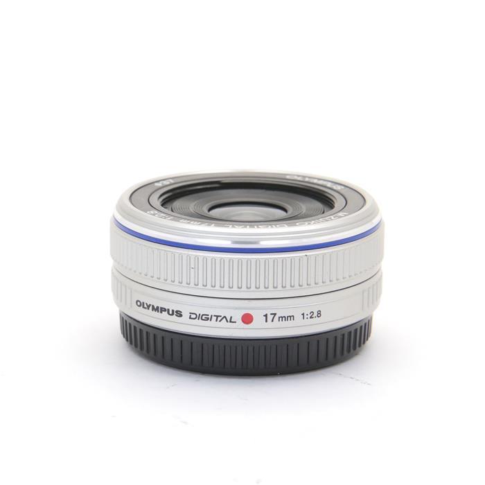 【あす楽】 【中古】 《良品》 OLYMPUS M.ZUIKO DIGITAL 17mm F2.8 シルバー (マイクロフォーサーズ) [ Lens | 交換レンズ ]