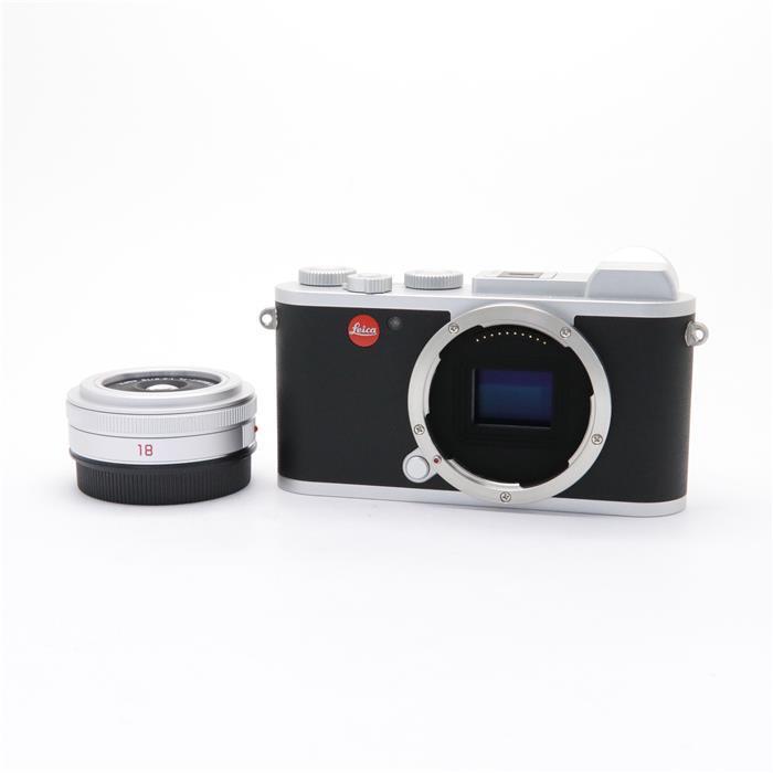 【あす楽】 【中古】 《美品》 Leica CL プライムキット 18mm シルバー [ デジタルカメラ ]