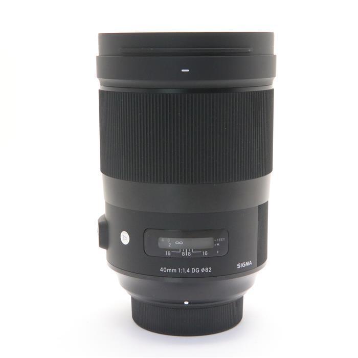 【あす楽】 【中古】 《良品》 SIGMA A 40mm F1.4 DG HSM(ニコン用) [ Lens | 交換レンズ ]