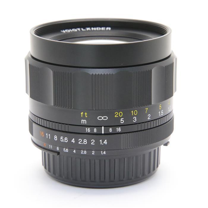 【あす楽】 【中古】 《良品》 Voigtlander NOKTON 58mm F1.4 SL II N(ニコンF用) [ Lens | 交換レンズ ]