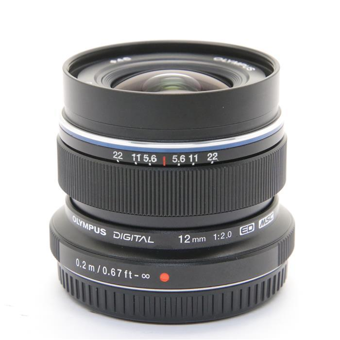 【あす楽】 【中古】 《美品》 OLYMPUS M.ZUIKO DIGITAL ED 12mm F2.0 ブラック (マイクロフォーサーズ) [ Lens   交換レンズ ]