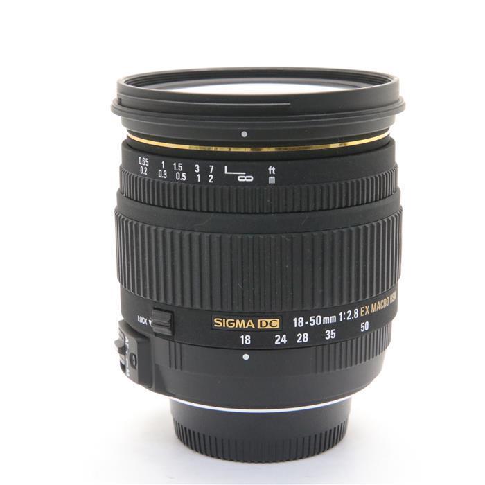 【あす楽】 【中古】 《良品》 SIGMA 18-50mm F2.8 EX DC Macro HSM (ニコン用) [ Lens | 交換レンズ ]