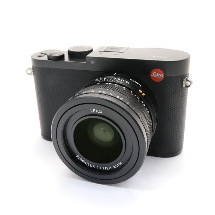 【あす楽】 【中古】 《並品》 Leica Q(Typ116) ブラック 【ライカカメラジャパンにて外観清掃/各部点検済】 [ デジタルカメラ ]