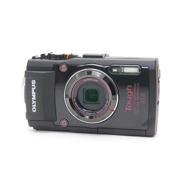 【あす楽】 【中古】 《美品》 OLYMPUS STYLUS TG-4 ブラック [ デジタルカメラ ]