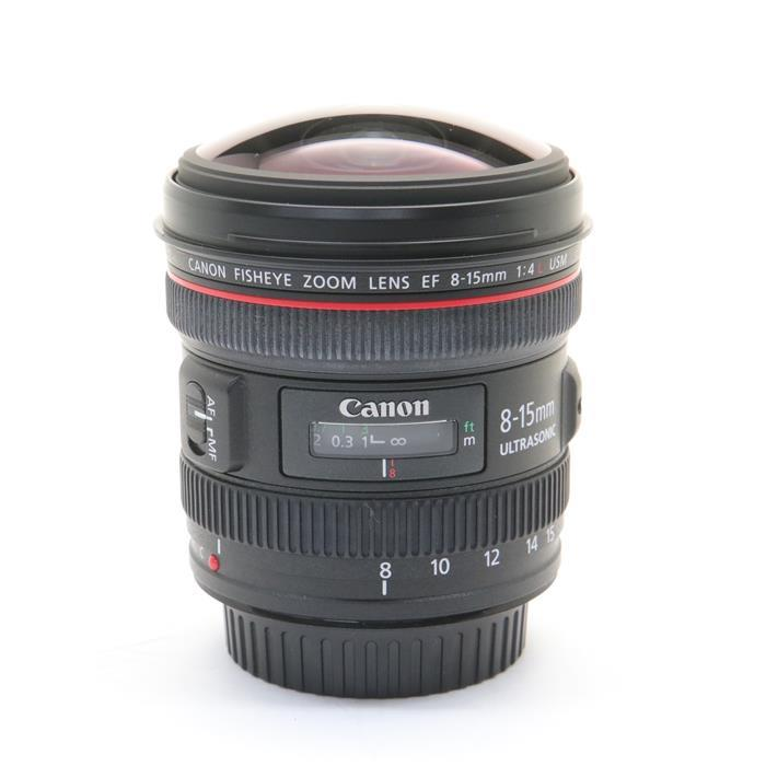 【あす楽】 【中古】 《良品》 Canon EF8-15mm F4L フィッシュアイ USM [ Lens | 交換レンズ ]