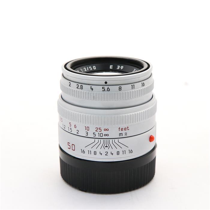 【あす楽】 【中古】 《並品》 Leica ズミクロン M50mm F2 レンズフード組込 シルバー [ Lens | 交換レンズ ]
