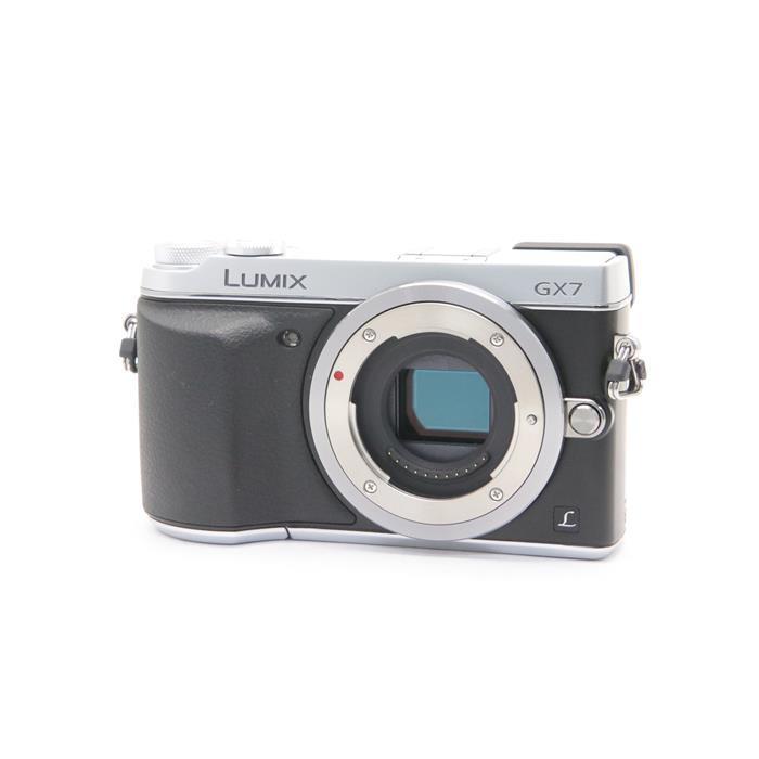 【あす楽】 【中古】 《並品》 Panasonic LUMIX DMC-GX7 シルバー [ デジタルカメラ ]