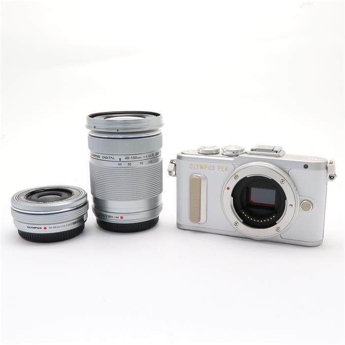 【あす楽】 【中古】 《新同品》 OLYMPUS PEN E-PL8 EZダブルズームキット ホワイト [ デジタルカメラ ]