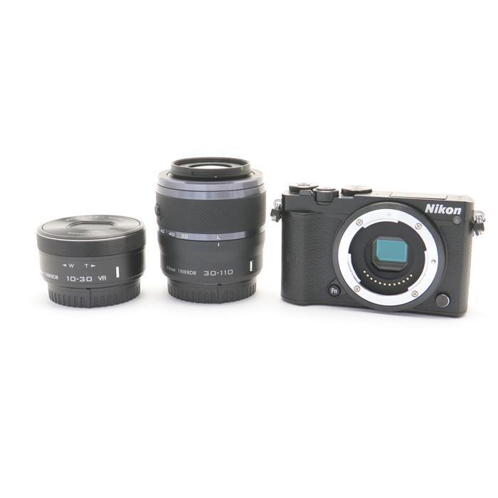 【あす楽】 【中古】 《美品》 Nikon Nikon 1 J5 ダブルズームレンズキット ブラック [ デジタルカメラ ]
