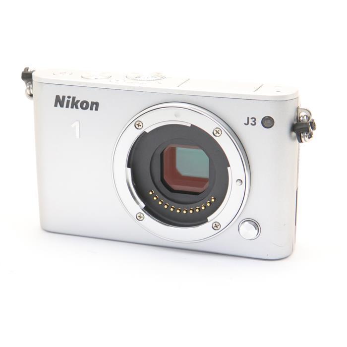 【あす楽】 【中古】 《並品》 Nikon Nikon 1 J3 ボディ シルバー [ デジタルカメラ ]