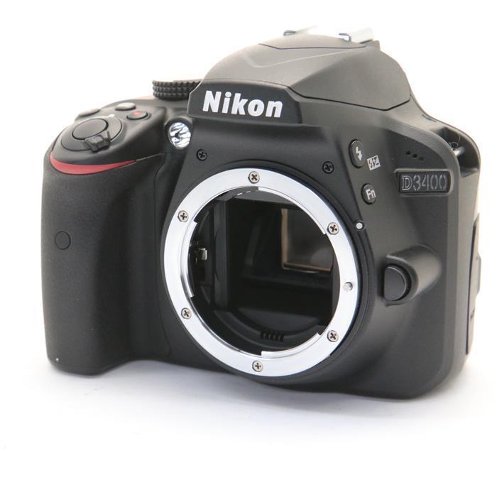 【あす楽】 【中古】 《美品》 Nikon D3400 ボディ ブラック [ デジタルカメラ ]