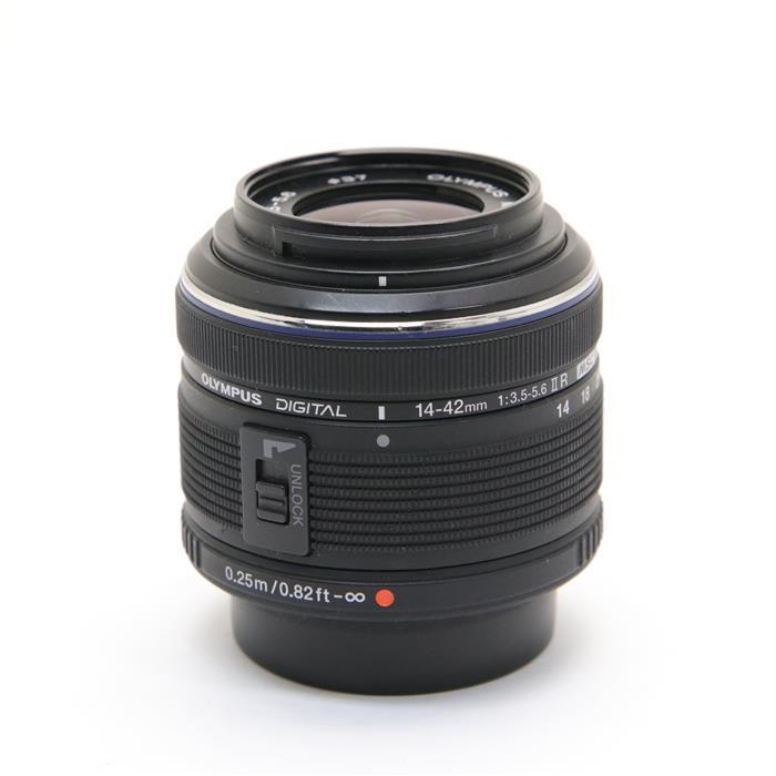 【あす楽】 【中古】 《良品》 OLYMPUS M.ZUIKO DIGITAL 14-42mm F3.5-5.6IIR ブラック (マイクロフォーサーズ) [ Lens | 交換レンズ ]