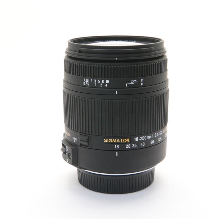 【あす楽】 【中古】 《美品》 SIGMA 18-250mm F3.5-6.3 DC MACRO OS HSM (ニコン用) [ Lens | 交換レンズ ]