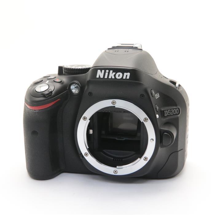 【あす楽】 【中古】 《美品》 Nikon D5200 ボディ ブラック [ デジタルカメラ ]