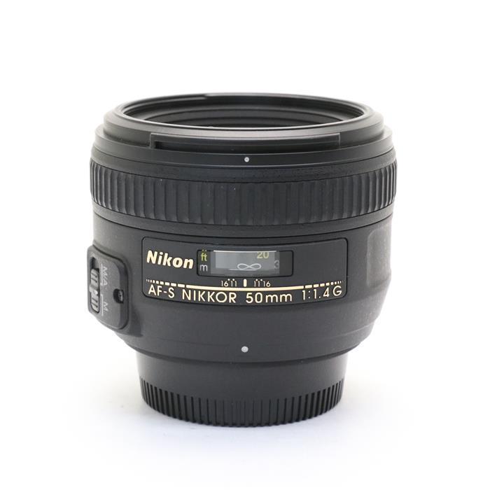 【あす楽】 【中古】 《美品》 Nikon AF-S NIKKOR 50mm F1.4 G [ Lens   交換レンズ ]