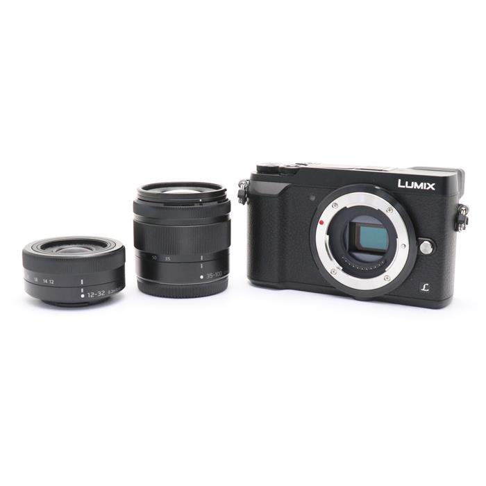 【あす楽】 【中古】 《美品》 Panasonic LUMIX DMC-GX7MK2W ダブルズームキット ブラック [ デジタルカメラ ]
