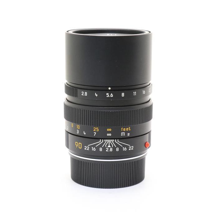 【あす楽】 【中古】 《良品》 Leica エルマリート M90mm F2.8 フード組込 ブラック [ Lens | 交換レンズ ]