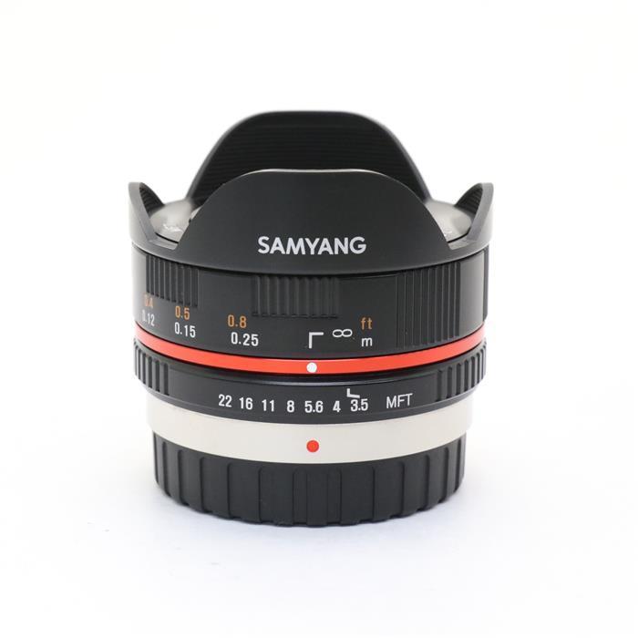 【あす楽】 【中古】 《美品》 SAMYANG 7.5mm F3.5 フィッシュアイ(マイクロフォーサーズ用) ブラック [ Lens | 交換レンズ ]