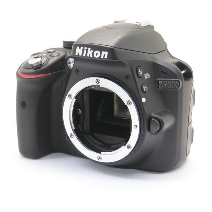 【あす楽】 【中古】 《良品》 Nikon D3300 ボディ ブラック [ デジタルカメラ ]