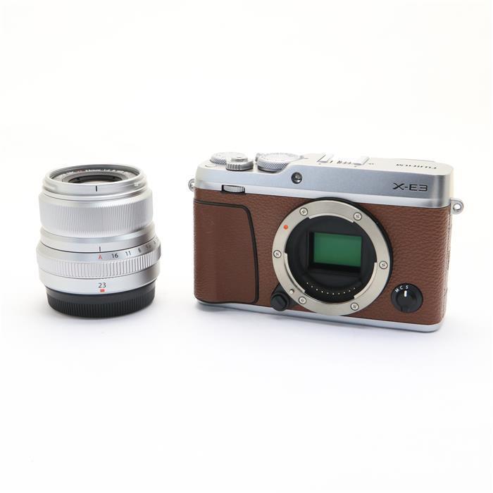 【あす楽】 【中古】 《美品》 FUJIFILM X-E3 XF23mmF2 R WRキット ブラウン [ デジタルカメラ ]