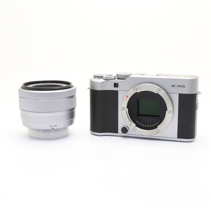 【あす楽】 【中古】 《美品》 FUJIFILM X-A5 レンズキット シルバー [ デジタルカメラ ]