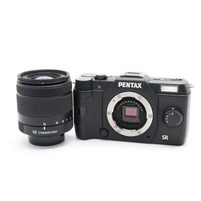 【あす楽】 【中古】 《美品》 PENTAX Q7 ズームレンズキット ブラック [ デジタルカメラ ]