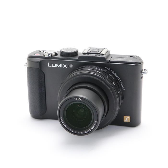 【あす楽】 【中古】 《美品》 Panasonic LUMIX DMC-LX7-K ブラック [ デジタルカメラ ]