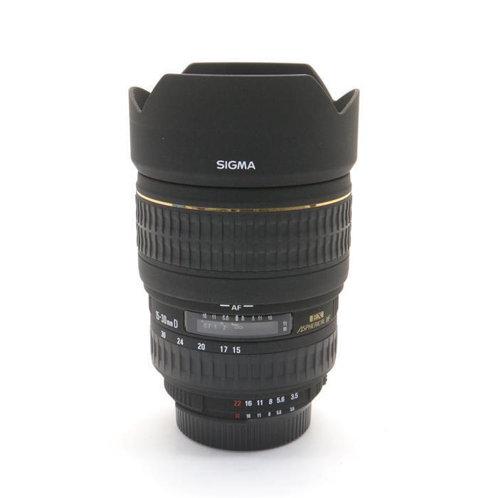 【あす楽】 【中古】 《美品》 SIGMA 15-30mm F3.5-4.5 EX DG ASPHERICAL(ニコン用) [ Lens | 交換レンズ ]
