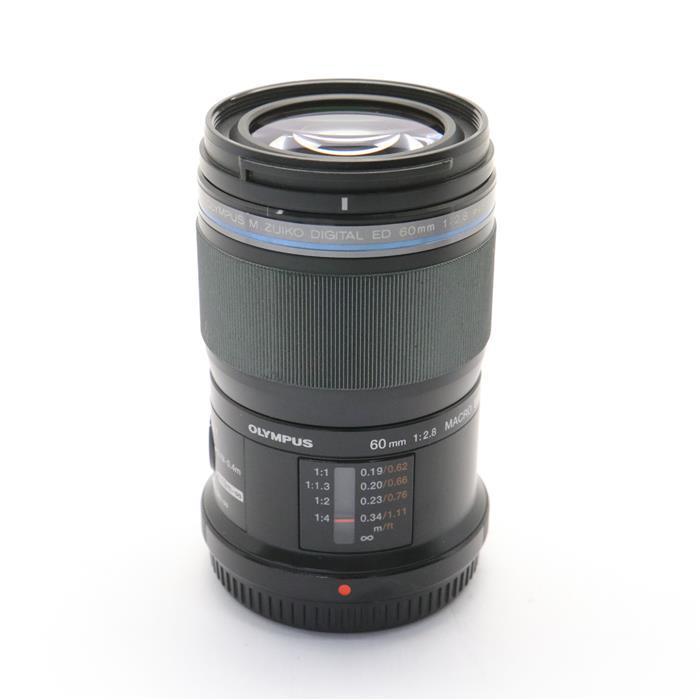 【あす楽】 【中古】 《並品》 OLYMPUS M.ZUIKO DIGITAL ED60mm F2.8 Macro 【別売フード付!】 (マイクロフォーサーズ) [ Lens | 交換レンズ ]