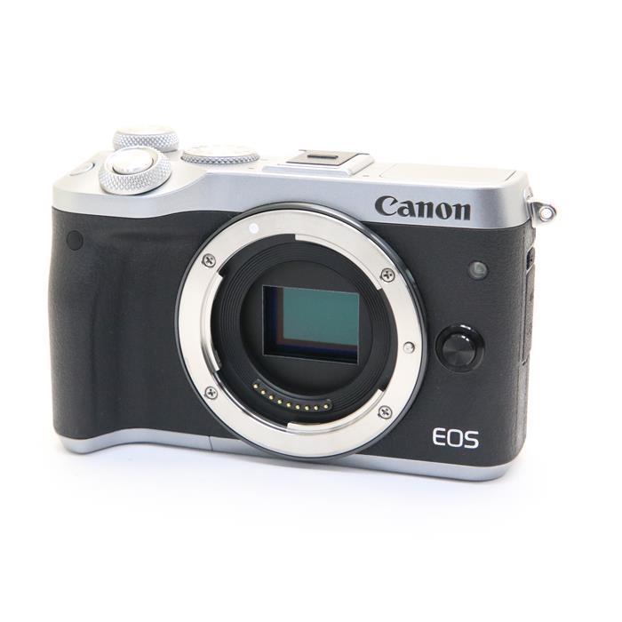 【代引き手数料無料!】 【あす楽】 【中古】 《美品》 Canon EOS M6 ボディ シルバー [ デジタルカメラ ]