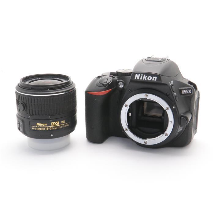 【あす楽】 【中古】 《良品》 Nikon D5500 18-55 VR II レンズキット ブラック [ デジタルカメラ ]