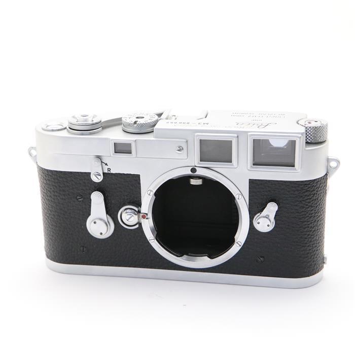 【あす楽】 【中古】 《並品》 Leica M3 (1回巻き上げ) 【ファインダー内清掃/シャッタースピード距離計調整/貼り革部品交換/各部点検済】