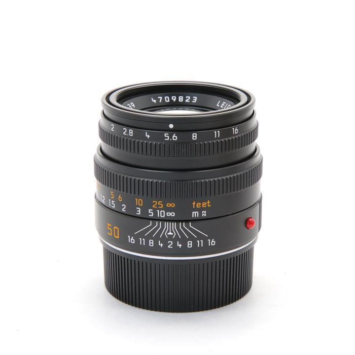 【あす楽】【中古 |】 《良品》 Leica ズミクロン M50mm【中古】 《良品》 F2.0 レンズフード組込 (6bit) ブラック [ Lens | 交換レンズ ], 鳩山町:ff8b5914 --- officewill.xsrv.jp