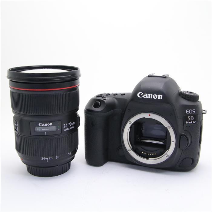【代引き手数料無料!】 【あす楽】 【中古】 《難有品》 Canon EOS 5D Mark IV EF24-70 F2.8L II USM レンズキット [ デジタルカメラ ]