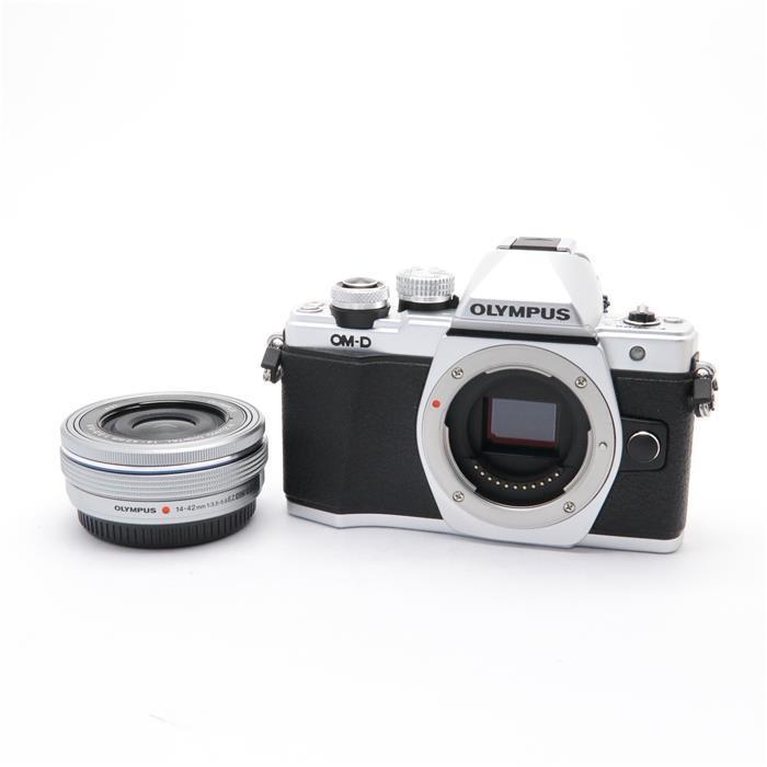 【あす楽】 【中古】 《美品》 OLYMPUS OM-D E-M10 Mark II 14-42mm EZレンズキット シルバー [ デジタルカメラ ]