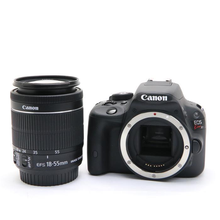 【代引き手数料無料!】 【あす楽】 【中古】 《美品》 Canon EOS Kiss X7 EF-S18-55 IS STM レンズキット [ デジタルカメラ ]